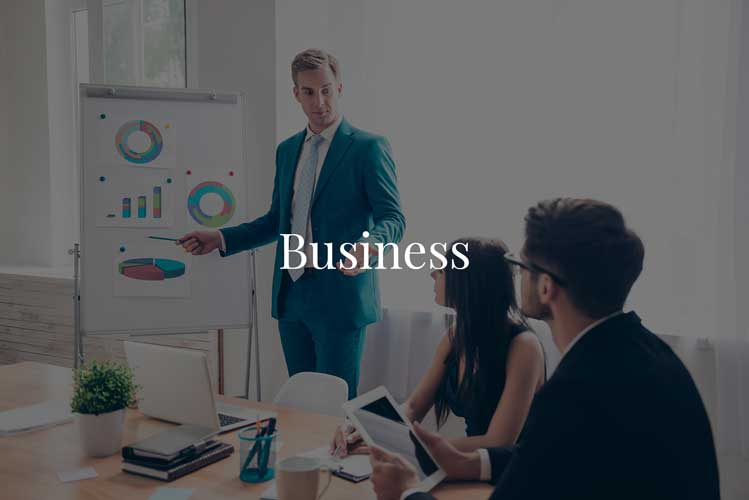 Business-heading